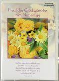 Namenstagskarte - Blütenmeer
