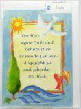 Taufkarte - Sonne & Taube