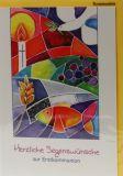 Kommunionkarte - Mosaiksteine