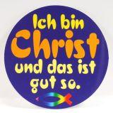 Aufkleber - Ich bin Christ...