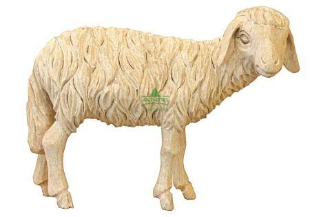 Bacher-Krippe-Lindenholz - Schaf stehend