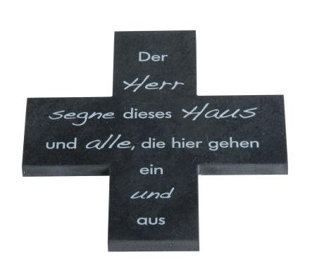 Schiefer Haussegen - Der Herr segne dieses Haus