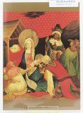 Weihnachtskarte - Anbetung der Könige v. Meister Francke