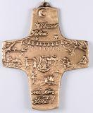 Kommunionkreuz - Unser Leben sei ein Fest