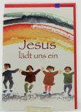 Kommunionkarte - Jesus lädt uns ein