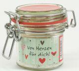 Glasdose - Von Herzen für dich!