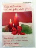 Weihnachtskarte - Ein Geschenk