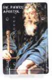 Rosenkranzkarte - Apostel Paulus