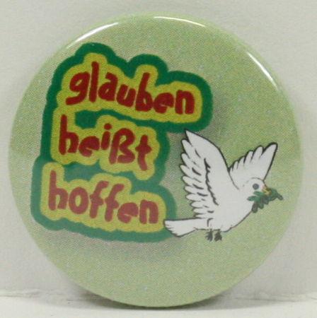 Anstecker - Button & Taube
