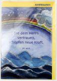 Konfirmationskarte - Neue Kraft