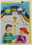Kommunionkarte - An guten und an schlechten Tagen...