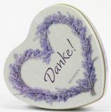 Geschenkdose - Danke & Lavendel-Seife