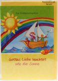 Erstkommunionpaket - Glückwunschkarte & Regenbogen