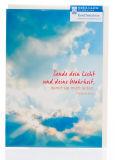Karte zur Konfirmation - Sende dein Licht und deine Wahrheit - Karten,Religiöse Anlässe,Konfirmationskarten,Karten mit Foto-Motiv