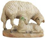 Karl-Kuolt-Lindenholz - Schaf mit Lamm