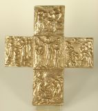 Bronzekreuz - Stationskreuz & 16 cm