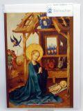 Weihnachtskarte - Anbetung des Kindes