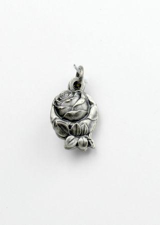 Medaille - Rose & Unbefleckte