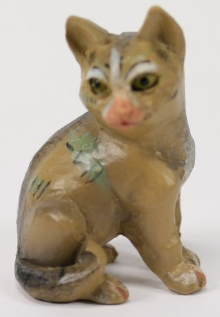 Tiroler-Krippe - Katze