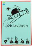 Allgemeiner Glückwunsch - Gutschein & Marienkäfer