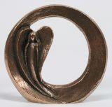 Bronze-Plakette - Beschützt & Behütet