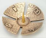 Bronzeleuchter - Kleeblatt