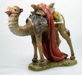Bayrische Künstler-Krippe - Kamel stehend/Gepäck
