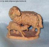 Bauernkrippe - Schafgruppe