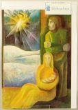 Weihnachtskarte - Geburt Jesu