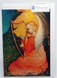 Weihnachtskarte - Harfe Spielender Engel