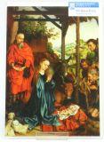 Weihnachtskarte - Die Geburt Christi & Groß