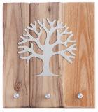 Schlüsselbrett - Lebensbaum & Holz