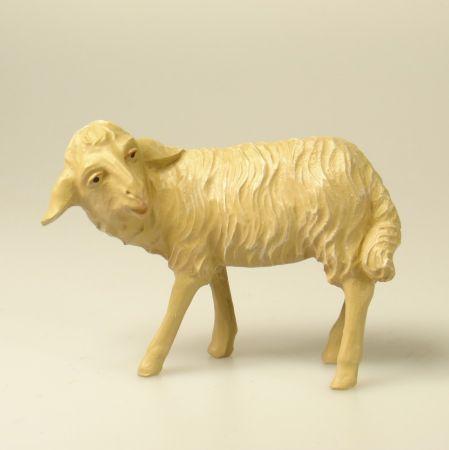 Tiroler-Krippe - Schaf umschauend