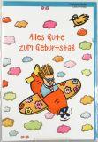 Geburtstagskarte - Kind & Flugzeug