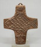 Kommunionkreuz - Fische