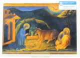 Weihnachtskarte - Geburt Christi v. Fabriano