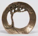 Bronze-Plakette - Vertraue Deiner Kraft