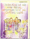 Kommunionkarte - Gemeinsam sind wir Gottes Licht