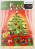 Weihnachtskarte - Musik-CD & Tannebaum