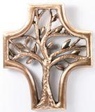 Bronzekreuz - Lebensbaum & Kreuzform