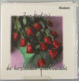 Vermählungskarte - Rote Rosen