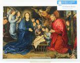 Weihnachtskarte - Anbetung der Könige v. Goes