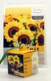 Geburtstagskarte - Schatzkiste gelb
