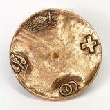 Bronzeleuchter - Kleiner Fuß
