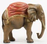 Oberammergauer Krippe - Elefant
