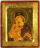 Ikone - Gottesmutter von Wladimir - 18 x 23 cm