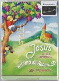 Kommunionkarte - Musik-CD & Kinder im Baum