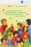 Kommunionkarte - Kinder & Schmetterlinge