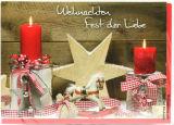 Weihnachtskarte - Fest der Liebe - Karten,Religiöse Anlässe,Weihnachtskarten,Karten mit Foto-Motiv