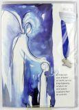 Weihnachtskarte - Engel-Anhänger & Botschaft vom Frieden